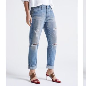 AG The Exboyfriend Slim slouchy slim jeans